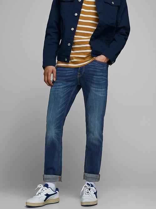 Jeans modello TIM SLIM STRAIGHT scuro