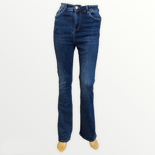 Jeans a zampa lunga