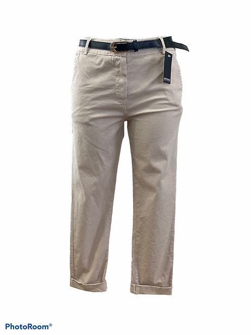 pantaloni con cinturino