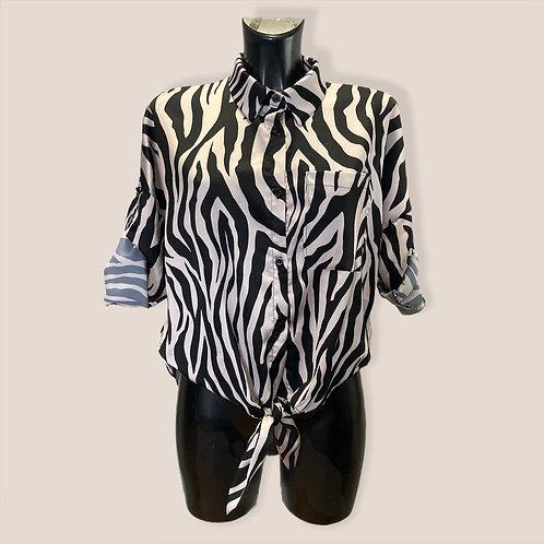 Camicia zebrata