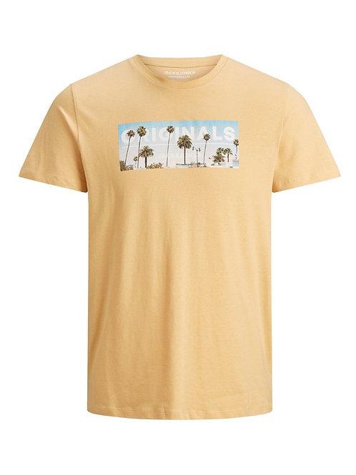 T-shirt con stampa colorata