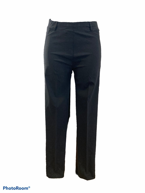 Pantalone elasticizzato a vita alta