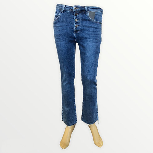 Jeans a zampa corta