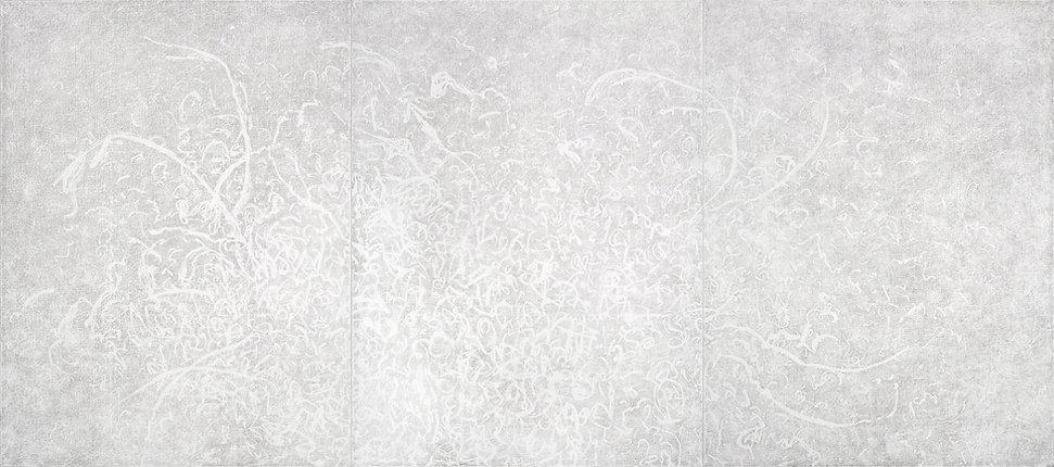White Chi Painting Oil on Canvas 2019 arte contemporáneo pintura