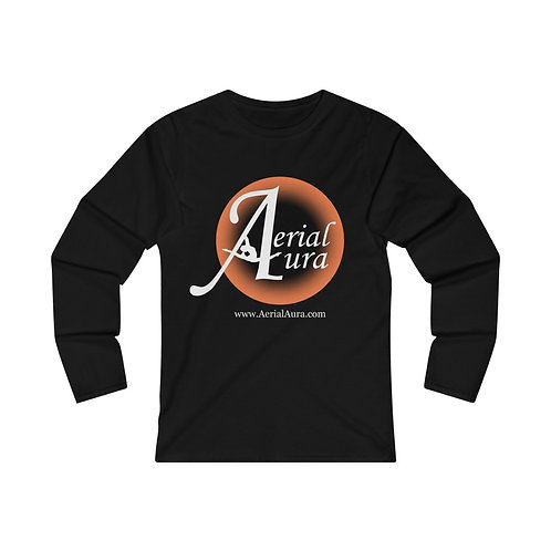 Aerial Aura- Women's Fitted Long Sleeve Tee