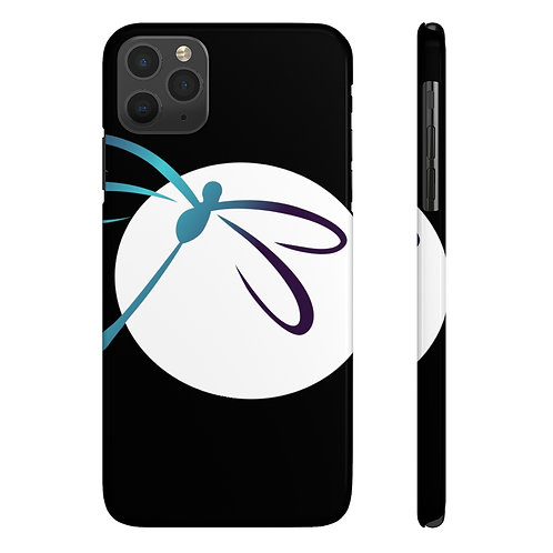 Dragonfly Aerial Company Moon- Case Mate Slim Phone Cases