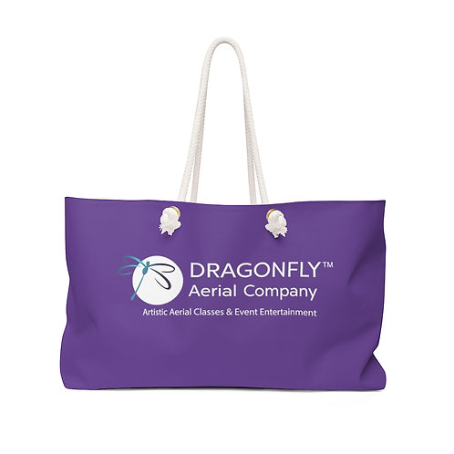 Dragonfly Aerial Company- Purple Weekender Bag