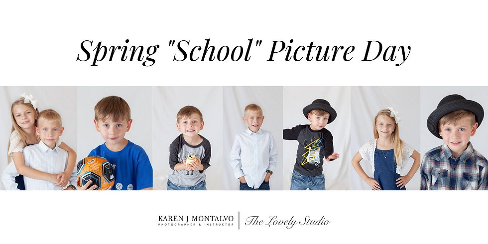 """Spring """"School"""" Picture Day"""