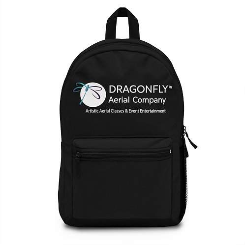 Dragonfly Aerial Company- Black Backpack (Made in USA)