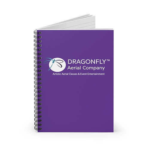 Dragonfly Aerial Company- Spiral Notebook - Ruled Line