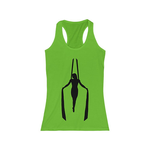 Aerial Silks Iron Cross- Women's Racerback Tank
