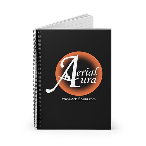 Aerial Aura - Spiral Notebook - Ruled Line