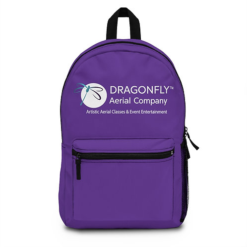 Dragonfly Aerial Company- Purple Backpack (Made in USA)