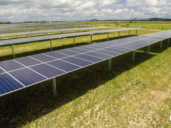 Company plans to build two solar farms in county