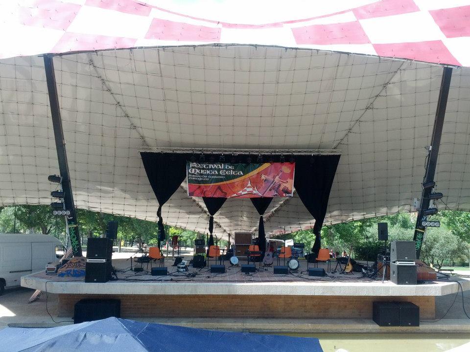 Festival de música celta de Torrero