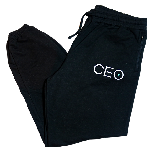 CEO Embroidery Joggers