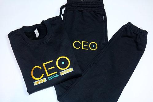 CEO. Embroidery Crewneck