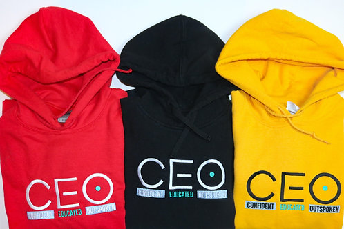 CEO. Embroidery Hoodie