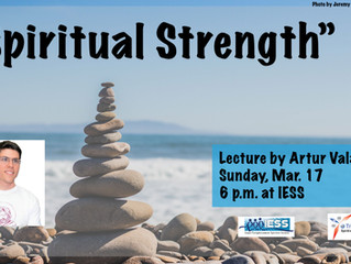 "Lecture ""Spiritual Strength"""