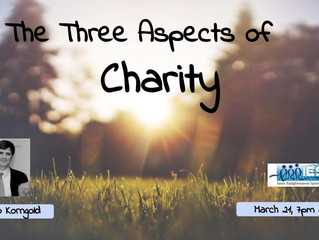 The Three Aspects of Charity