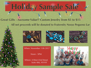 Holiday Sample Sale