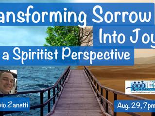 Transforming Sorrow Into Joy: a Spiritist Perspective