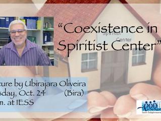 Lecture by Ubirajara Oliveira