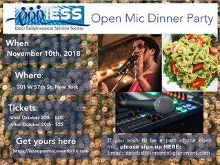 Open Mic Dinner Party
