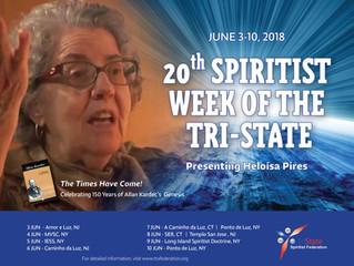 20th Spiritist Week of the Tri-State