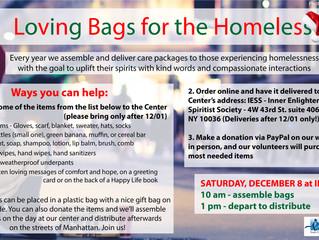 Loving Bags for the Homeless