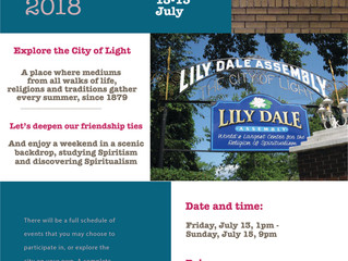 Spiritist Weekend in Lily Dale