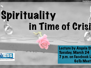 Spirituality in Time of Crisis