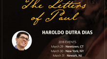 """The Letters of Paul"" with Haroldo Dutra Dias"