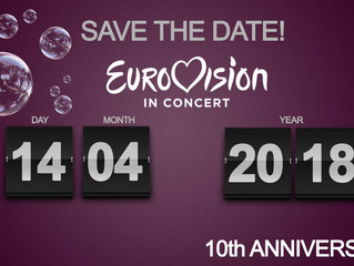 Eurovision In Concert - Date announced!
