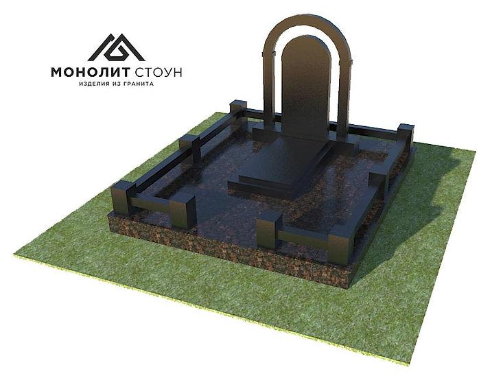 Надгробный комплекс из гранита №1