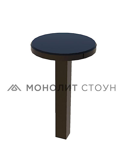 Столик из гранита круглый