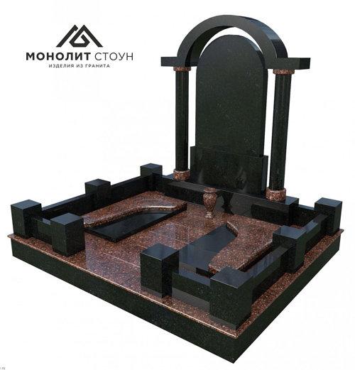 Надгробный комплекс из гранита №7