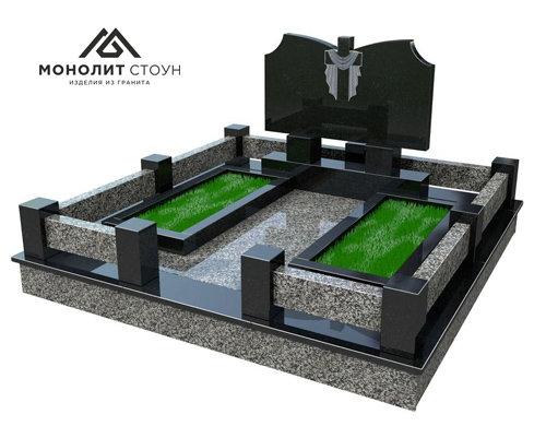 Надгробный комплекс из гранита №11
