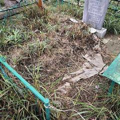 Что сделать, чтобы не росла трава на могилке