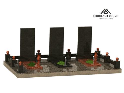 Надгробный комплекс из гранита №13