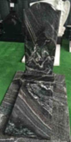 Памятник из гранатового амфиболита