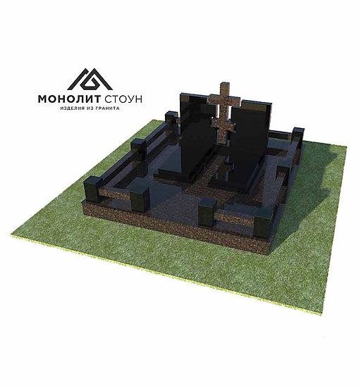 Надгробный комплекс из гранита №20