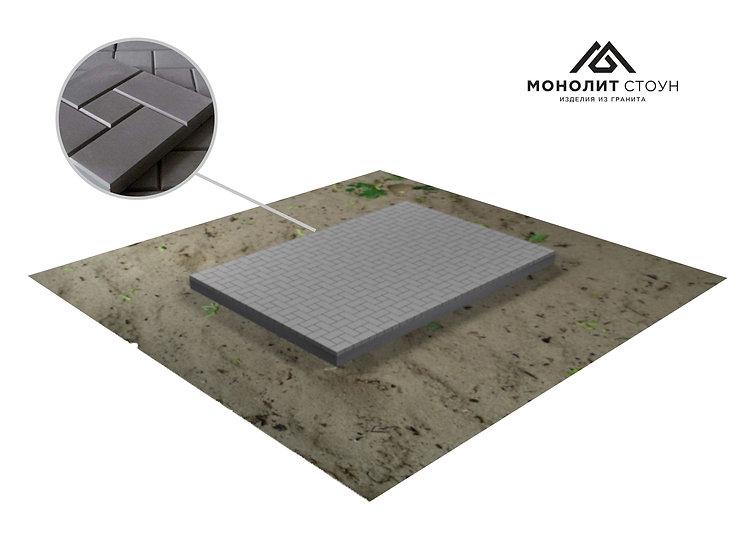 Тротуарная плитка на могилу (30*30 см)