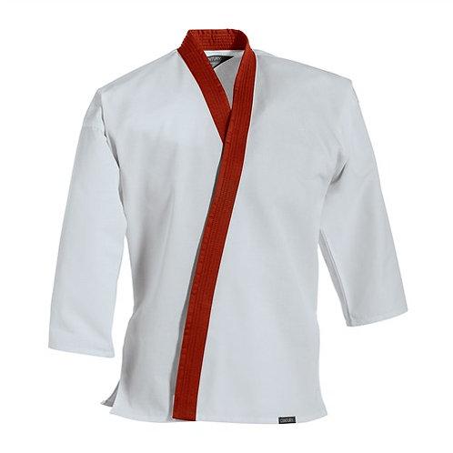 Red Trim Uniform Top