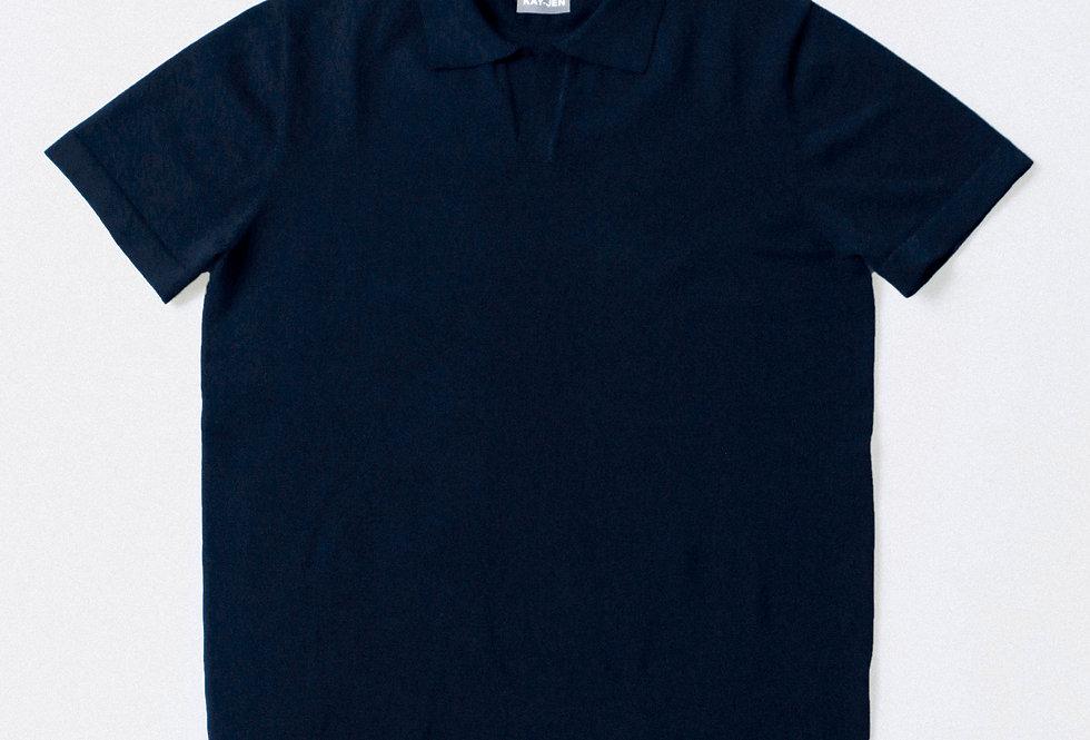 RTW Noir Button-less Polo