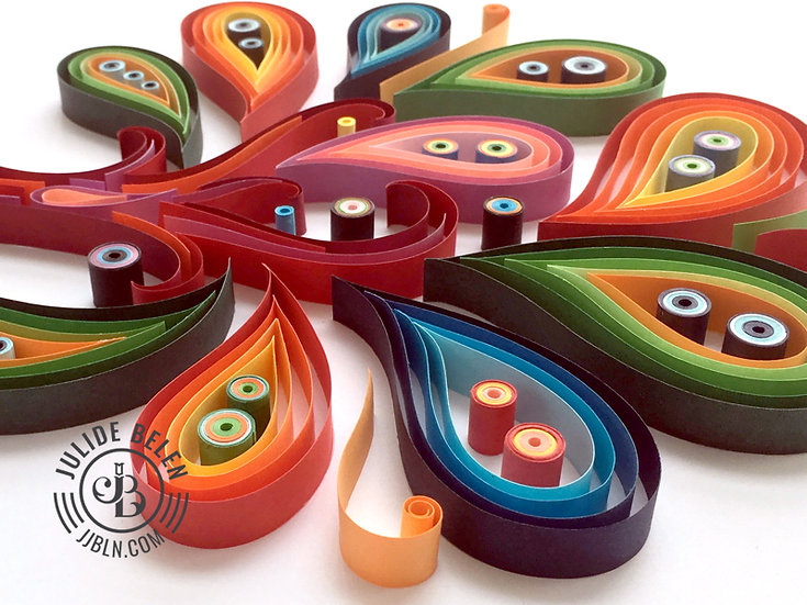 Quilled Paper Art: Tree of Love