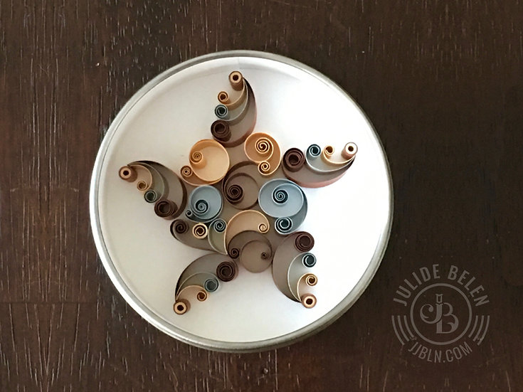Mini Quilled Paper Star