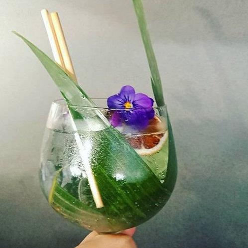 1000 Wheat stem drinking straws 20cm