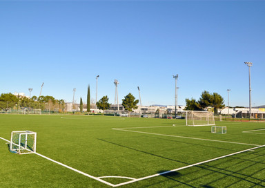 Artificial turf football fieldKoper