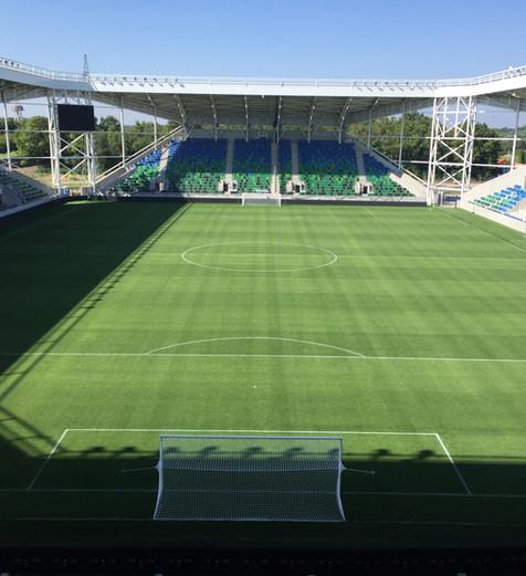 SZIC Szeged football stadium and training pitches